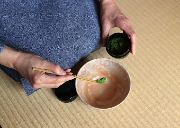 Chashaku, Japanese tea scoop used in tea ceremony